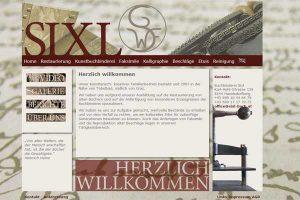Buchrestaurierung-SIXL